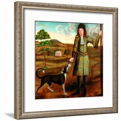 John Mitchel of Scout Hall--Framed Giclee Print
