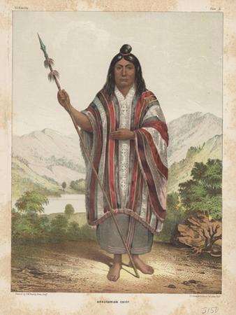 Araucanian Chief, 1855