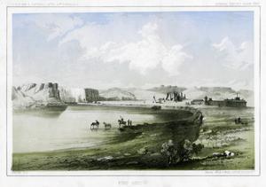Fort Benton, Montana, USA, 1856 by John Mix Stanley