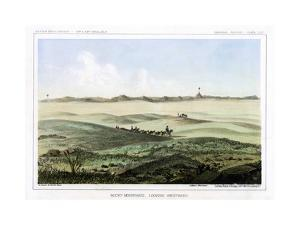 The Rocky Mountains, Looking Westward, USA, 1856 by John Mix Stanley