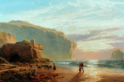 Off the Cornish Coast (Trebariwith Strand), 1877-78