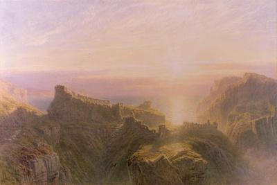 Sunset at Tintagel, 1871