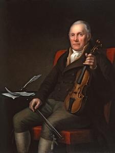 William Marshall (1748-1833), Scottish Fiddler and Composer, 1817 by John Moir