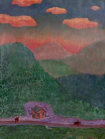 Appalachian Mist by John Newcomb