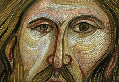 Byzantine Mosaic, Palermo by John Newcomb