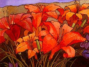Day Lilies III by John Newcomb