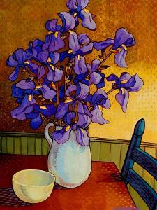 Iris Vase by John Newcomb