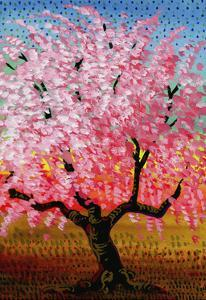 Japanese Cherry by John Newcomb