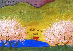 Japanese Lake by John Newcomb