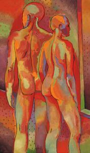 Kandinsky's Dancers I by John Newcomb