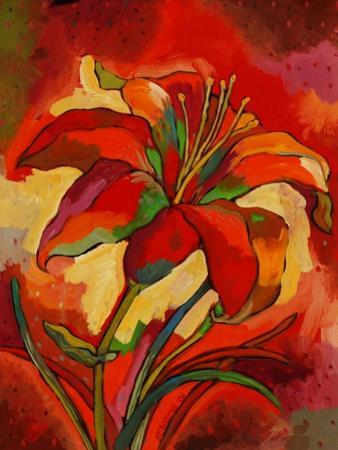 Kandinsky's Day Lily by John Newcomb