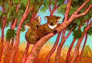 Koalas by John Newcomb