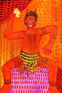 Maori Haka (Challenge Dance) by John Newcomb