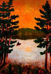 Northern Lake by John Newcomb