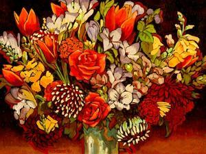 Old Fashioned Bouquet by John Newcomb