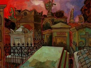 Old St. Louis Cemetery by John Newcomb