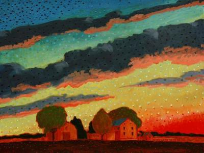 Pennsylvania Sunset by John Newcomb
