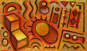 Petroglyph by John Newcomb