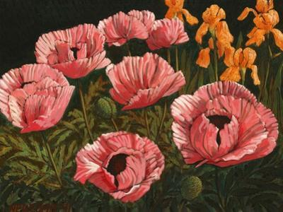 Pink Poppies by John Newcomb