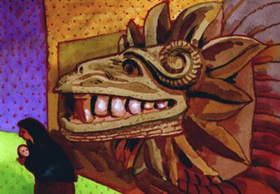 Quetzalcoatl by John Newcomb