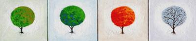 Seasons: Four in Line by John Newcomb