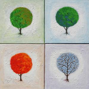 Seasons: Four Square by John Newcomb