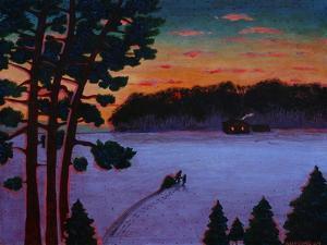 Snow Field by John Newcomb