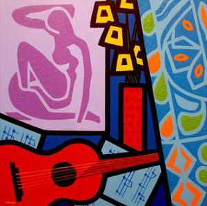 Homage to Matisse 11 by John Nolan