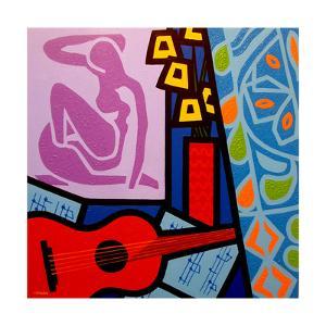 Homage to Matisse 11 by John Nolan