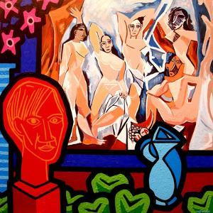 Homage to Picasso 1 by John Nolan