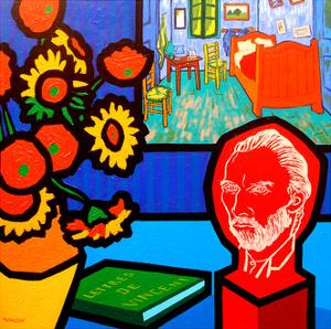 Homage to Van Gogh 3 by John Nolan