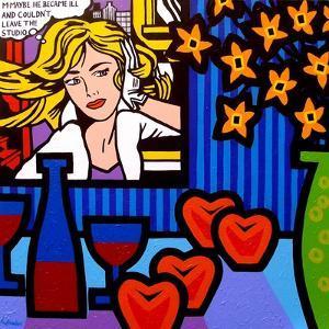 Still Life with Lichtenstein 2 by John Nolan