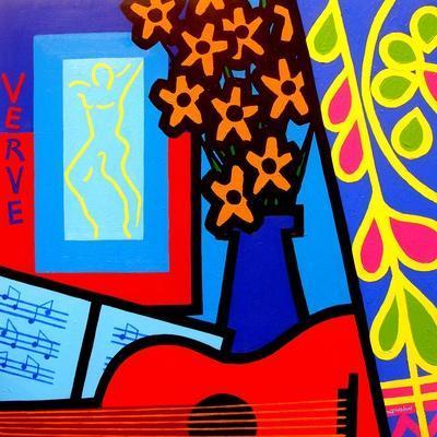 Still Life with Matisses Verve