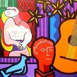 Homage to Matisse 11-John Nolan-Framed Giclee Print