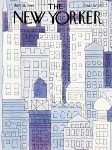 The New Yorker Cover - January 28, 1980 by John Norment