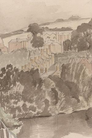 The River at Bures, Suffolk, C.1935 (Detail)