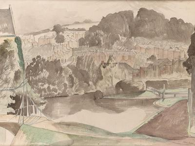 The River at Bures, Suffolk, C.1935
