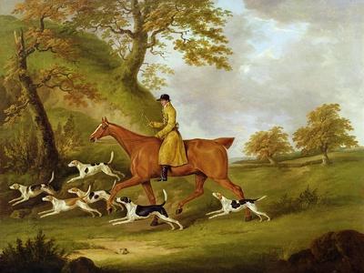 Huntsman and Hounds, 1809
