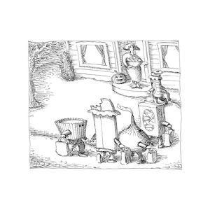 Candies Trick or Treating. - Cartoon by John O'brien