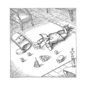 Capitol toys - Cartoon by John O'brien