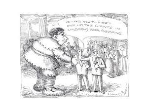 Children's Book publishing - Cartoon by John O'brien