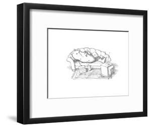 Couch Potato - Cartoon by John O'brien