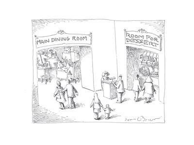 Dining and Dessert rooms - Cartoon