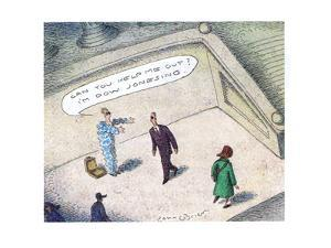 Dow Jonesing - Cartoon by John O'brien