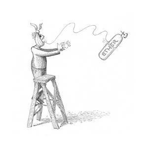 Ether - Cartoon by John O'brien