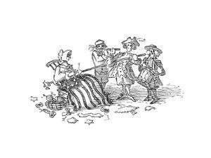 Flag pole - Cartoon by John O'brien