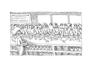Free Sardines - Cartoon by John O'brien
