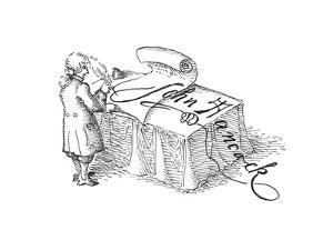 John Hancock - Cartoon by John O'brien