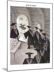 Leap of Faith - New Yorker Cartoon by John O'brien