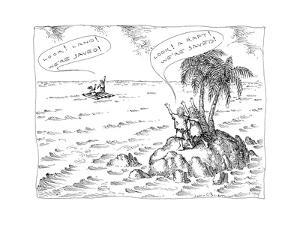 New Yorker Cartoon by John O'brien